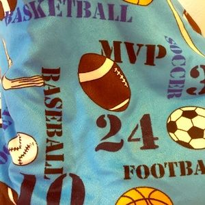 Youth Sports Throw Blanket